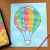Рисование цветной манкой: 4 техники для детей от 1-3 лет, которые увлекут даже взрослых