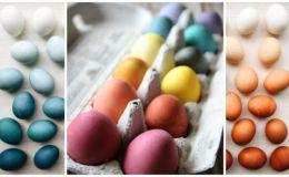 Как покрасить яйца натуральными красителями: 6 простых и безопасных способов