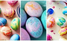Как покрасить яйца на Пасху: 8 оригинальных способов