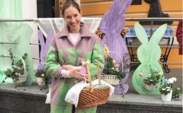 Катя Осадчая, Маричка Падалко, Оля Полякова: как украинские звездные мамы Пасху отмечают