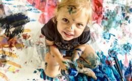 Пальчиковые краски для детей своими руками: 4 безопасных рецепта