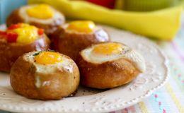Топ-3 рецепта фаршированных булочек на завтрак