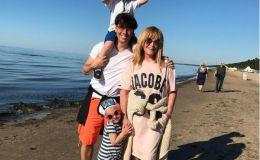 Милота дня: Максим Галкин и Алла Пугачева на прогулке с детьми