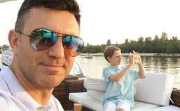 Николай Тищенко показал трогательное фото со старшим сыном