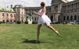 Такие разные. 33-летняя Оля Полякова показала своих дочерей