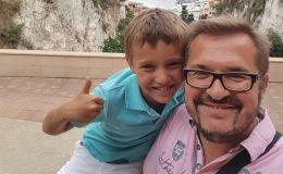 Снова вместе: Александр Пономарев путешествует с сыном по Европе