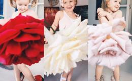 Маленькая Instagram-звезда: американская мама одевает в дочь в платья из арбуза и бананов