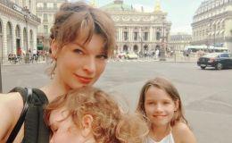 Милота дня: Милла Йовович показала младшую дочку-кудряшку