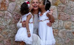Камалия показала подросших дочек-близняшек на отдыхе