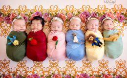 Младенцы в образах диснеевских принцесс растрогали сеть