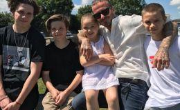 Дэвиду Бекхэму 43: как дети поздравили папу с днем рождения