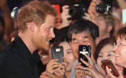 Немного о принцах: британский принц Гарри и маленькая любительница попкорна. Видео