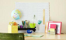 Рабочее место школьника: 20 лайфхаков для организации порядка