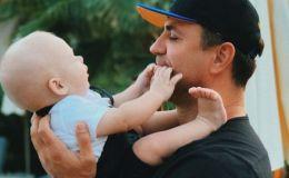 «Я самый счастливый папа»: Николай Тищенко показал маленького сына