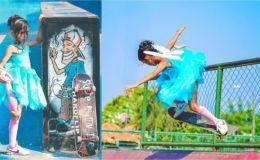 Суперспособности: маленькая фея-скейтер из Бразилии взорвала сеть
