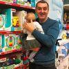 Красивые и счастливые: Дядя Жора крестил младшую дочь