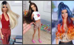 Круче чем оригинал: художник создает эксклюзивные куклы Барби
