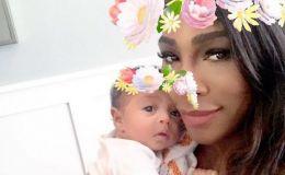 Никаких тайн: Серена Уильямс показала двухмесячную дочку