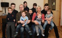 Невероятная история одной семьи: мама 9 мальчиков опять беременна
