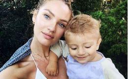 Супермодель Кэндис Свейнпол родила второго ребенка