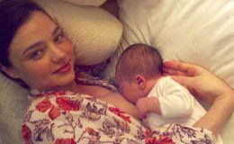 Трогательная близость: лучшие фото звездных мам во время кормления грудью