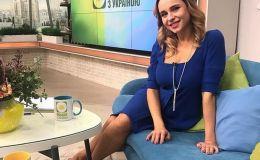 Модная беременность: Лилия Ребрик в платье за 3 тысячи гривен