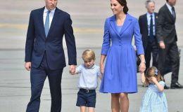 Кейт Миддлтон и принц Уильям показали новые фото принцессы Шарлотты