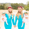 Магия беременности: потрясающая фотосессия сестер-близнецов взорвала сеть