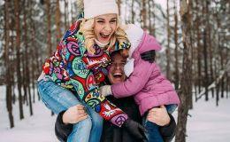 Международный День объятий: нежные объятия звездных родителей и их детей