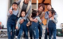 Японка покорила Instagram стильными образами своих детей
