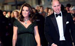 Глаз не отвести: беременная Кейт Миддлтон вышла на красную дорожку