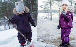 Детская мода. Выбор зимнего комбинезона для ребенка: слитный или раздельный?