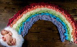 Эко-радуга для моего малыша: история одной фотографии, взорвавшей сеть