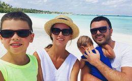 Он хочет познакомиться с вами: Григорий Решетник впервые показал лицо 9-месячного сына