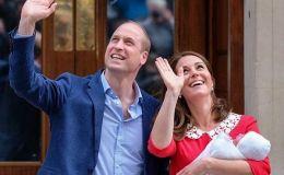 Кейт Миддлтон отправилась домой с новорожденным сыном: первые фото