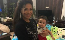 Гайтана поделилась редким фото мужа и дочки