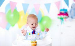 Что подарить ребенку на первый день рождения?