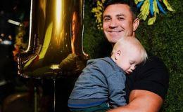 Николай Тищенко показал своих сыновей и похвастался семейной идиллией