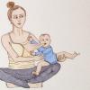 Идеальное материнство и разбитые мечты: норвежская художница рисует комиксы о «прелестях» материнства