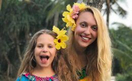 Оля Полякова показала как подросла ее младшая дочь