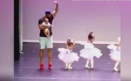 Папина поддержка: адвокат станцевал на сцене маленькой с дочкой