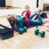 Как похудеть после родов, если не хватает времени на себя. Секреты от фитнес-мамы