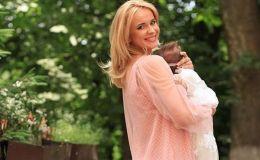 Лилия Ребрик крестила младшую дочь и показала красивые фото