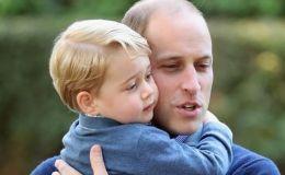 Принцу Джорджу исполнилось 5 лет. С днем рождения!