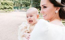 Новое фото Кейт Миддлтон с 6-месячным Луи + видео-история появления на свет королевских персон