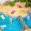 Умные игрушки: как сделать кинетический песок своими руками
