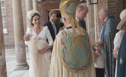 Кейт Миддлтон и принц Уильям крестили младшего сына: фото и видео