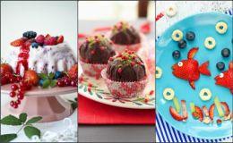 Легкие летние десерты с фруктами для детей, которые непременно захочется попробовать