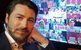 Сергей Притула показал сына и годовалую дочку