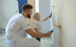 Покраска стен в детской: быстро и безопасно вместе с Caparol